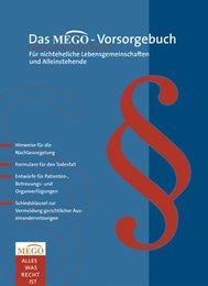 Das MEGO-Vorsorgebuch - Cover