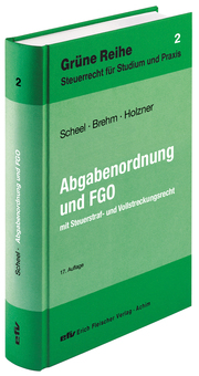 Abgabenordnung Finanzgerichtsordnung - Cover