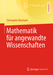 Mathematik für angewandte Wissenschaften - Cover