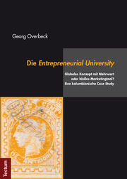 Die Entrepreneurial University - Cover