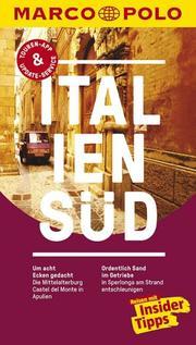 Italien Süd - Cover