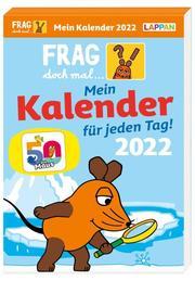 Tageskalender 2022 - Mein Kalender für jeden Tag! - Cover