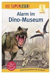 Alarm im Dino-Museum - Cover