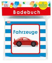 Badebuch Fahrzeuge - Cover