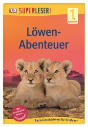 Löwen-Abenteuer - Cover