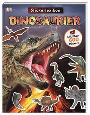 Sticker-Lexikon. Dinosaurier