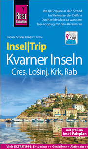 Reise Know-How InselTrip Kvarner Inseln Cres, Losinj, Rab, Krk