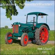 Traktoren Tractors 2020 - Broschürenkalender - Wandkalender - mit Schulferientabelle - Format 30 x 30 cm