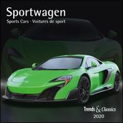 Sportwagen Sports Cars 2020 - Broschürenkalender - Wandkalender - mit Schulferientabelle - Format 30 x 30 cm
