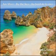 Am Meer By the sea 2020 - Broschürenkalender - Wandkalender - mit herausnehmbarem Poster - Format 30 x 30 cm