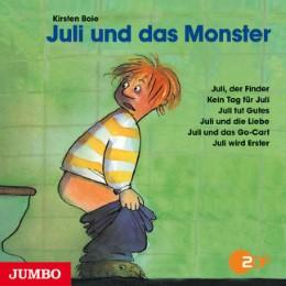 Juli und das Monster - Cover