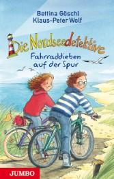 Die Nordseedetektive - Fahrraddieben auf der Spur - Cover