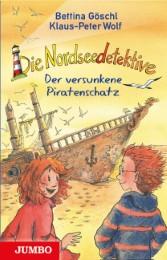 Die Nordseedetektive - Der versunkene Piratenschatz - Cover