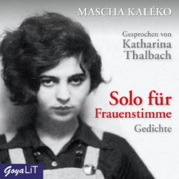 Solo für Frauenstimme - Cover