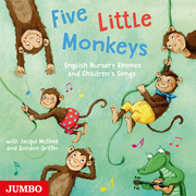 Five Little Monkeys. English Nursery Rhymes and Children's Songs