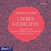 Liebesgedichte - Cover