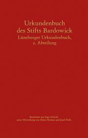 Urkundenbuch des Stifts Bardowick