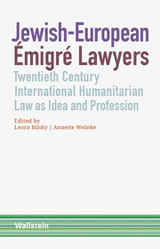 Jewish-European Émigré Lawyers