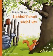 Eichhörnchen zieht um - Cover