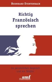 Richtig Französisch sprechen - Cover