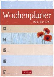 Wochenplaner Mein Jahr 2020 - Cover