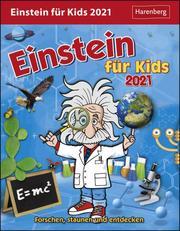Einstein für Kids Kalender 2021 - Cover
