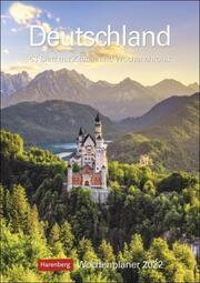 Deutschland Kalender 2022 - Cover
