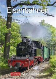 Eisenbahnen Kalender 2022 - Cover