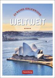 Weltweit Kalender 2022 - Cover