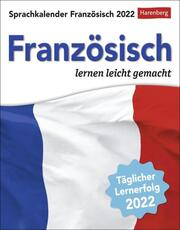 Sprachkalender Französisch Kalender 2022 - Cover