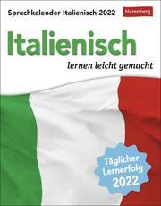 Sprachkalender Italienisch Kalender 2022 - Cover