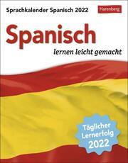 Sprachkalender Spanisch Kalender 2022 - Cover