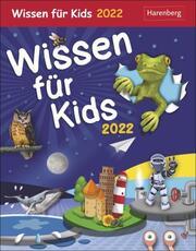 Wissen für Kids Kalender 2022 - Cover