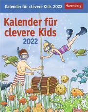Kalender für clevere Kids 2022 - Cover