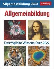 Allgemeinbildung Kalender 2022 - Cover