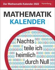Der Mathematik-Kalender 2022 - Cover
