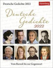 Deutsche Gedichte 2022 - Cover