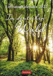 Literaturkalender Im deutschen Wald 2022 - Cover