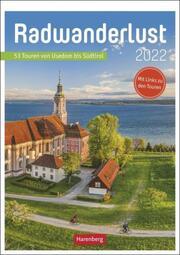 Radwanderlust Kalender 2022 - Cover