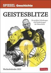 SPIEGEL GESCHICHTE Geistesblitze Kalender 2022 - Cover