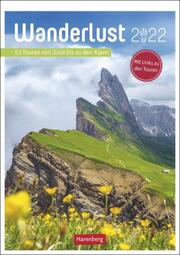 Wanderlust Kalender 2022 - Cover