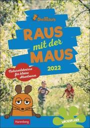 Die Maus: Raus mit der Maus 2022 - Cover