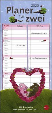Rosalie & Trüffel Planer für zwei Kalender 2020