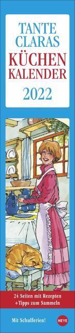 Tante Claras Küchenkalender 2022 - Cover
