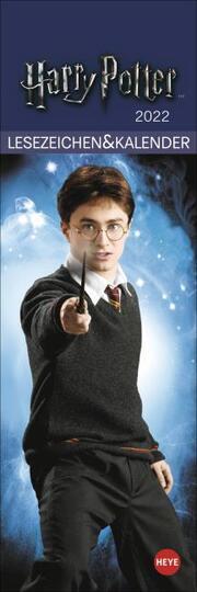 Harry Potter Lesezeichen & Kalender 2022 - Cover