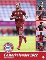 FC Bayern München Posterkalender 2022 - Cover