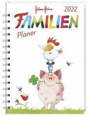 Helme Heine Familienplaner-Buch A5 2022 - Cover