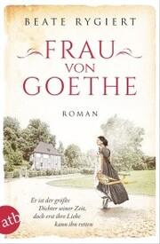 Frau von Goethe - Cover