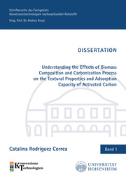 Understanding the Effects of Biomass Composition and Carbonization Process on the Textural Properties and Adsorption Capacity of Activated Carbon