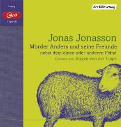 Mörder Anders und seine Freunde nebst dem einen oder anderen Feind - Cover